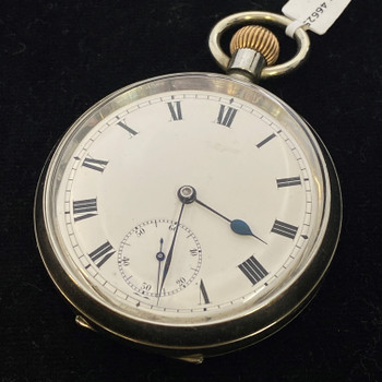 OMEGA FOB POCKET WATCH 4662594 CIRCA 1910 - SERVICED #51297