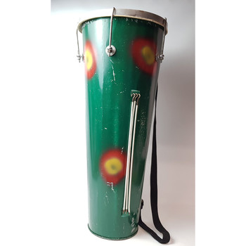 METAL BONGO DRUM - GREEN #43871