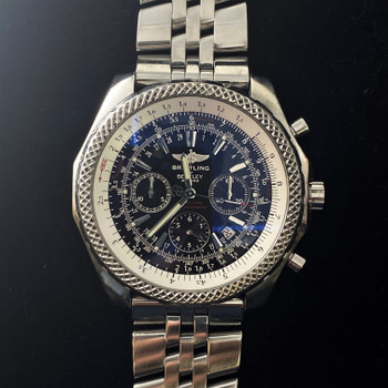 BREITLING FOR BENTLEY SPECIAL EDITION CHRONOGRAPH WATCH A25362 #52332