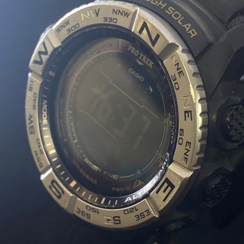 CASIO PRO TREK 3444 DIGITAL SOLAR WATCH #51719