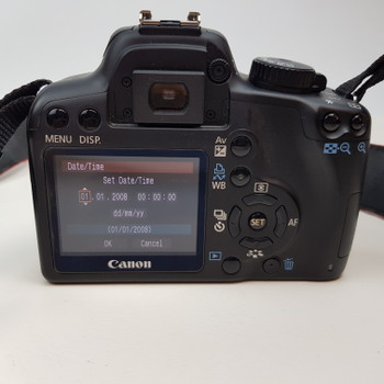 CANON CAMERA EOS 1000D BODY ONLY (LOW SHUTTER COUNT) + CASE/BATTERY/CHARGER #52307