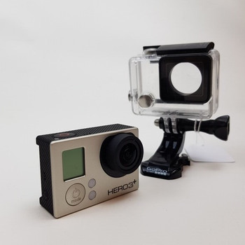 GOPRO ACTION CAMERA HERO3+ WITH SPARE BATTERY #51906