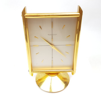 JAEGER LECOULTRE 8 DAY DESK CLOCK #52292