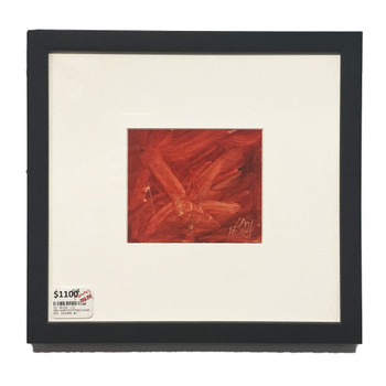 PRO HART PAINTING (1928 - 2006) DRAGONFLY - RED #46139