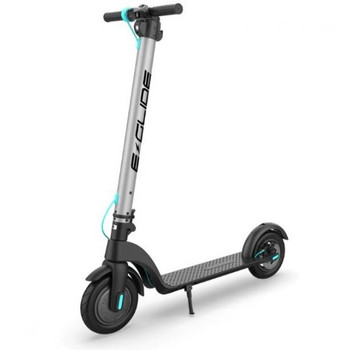 E-GLIDE ELECTRIC SCOOTER G60 (2021 MODEL) GUNMETAL/BLUE WITH CHARGER + RECEIPT (29/10/20) #52762