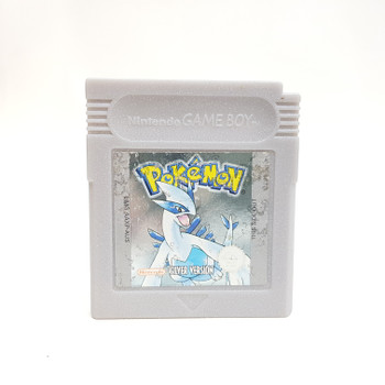 POKEMON SILVER NINTENDO GAMEBOY CARTRIDGE AUS PAL #52540