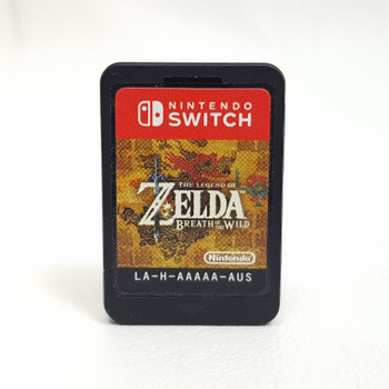 BREATH OF THE WILD NINTENDO SWITCH GAME AUS PAL CARTRIDGE ONLY #52537