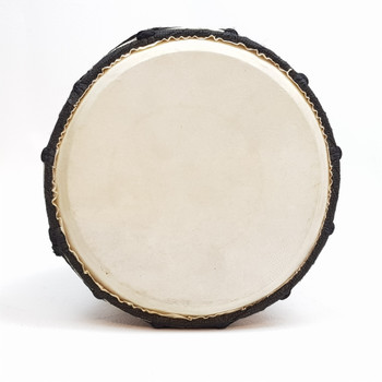 SMALL DJEMBE DRUM - WITH ABORIGINAL DOT PAINTING #47836