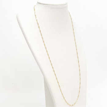 18CT 2.7GR YELLOW GOLD CHAIN NECKLACE 49CM #52706
