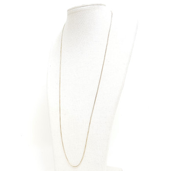 9CT 2.2GR YELLOW GOLD BOX LINK CHAIN NECKLACE 54CM #52709 **