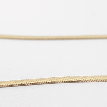 9CT 3.2GR YELLOW GOLD CHAIN NECKLACE 40CM #52717 **