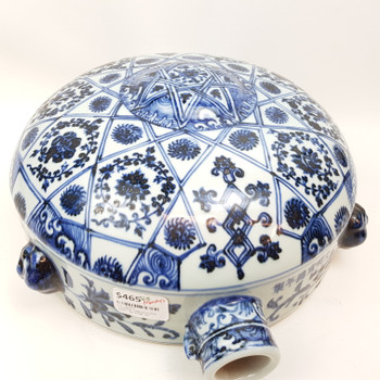 CHINESE CERAMIC MOON FLASK #46374