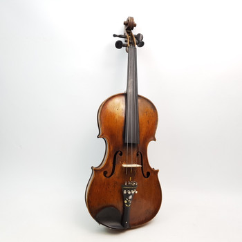 COPY OF GASPARO DA SALO I VIOLIN FECIT 1596 + CASE (A/F) #51843