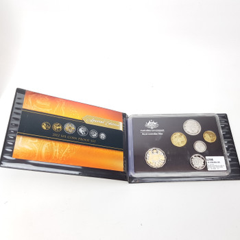 2012 SIX COIN PROOF SET - ROYAL AUSTRALIAN MINT - SPECIAL EDITION #51141