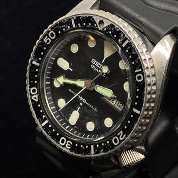 VINTAGE SEIKO 7548 7000 QUARTZ DIVER WATCH #51717