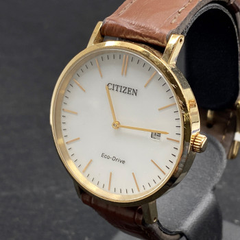 CITIZEN ECO-DRIVE DRESS WATCH AU1083-13A (RRP $350) #52253