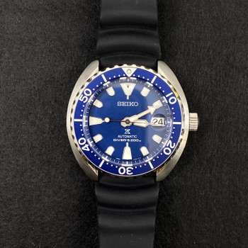 SEIKO WATCH MINI TURTLE PROSPEX SRPC39K1 4R35-01Y0 + BOX #52563