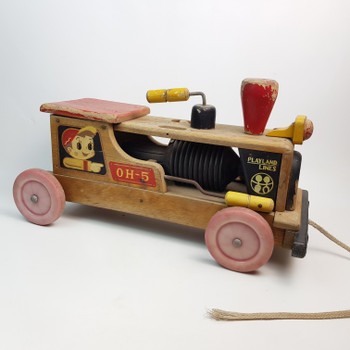 PLAYLAND LINES TIMBER KIDS TOY TRAIN - OH-5 #43152