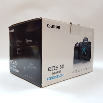 CANON EOS 6D MARK II DSLR CAMERA & EF 24-105MM IS STM LENS (VERY LOW SHUTTER COUNT) #53049