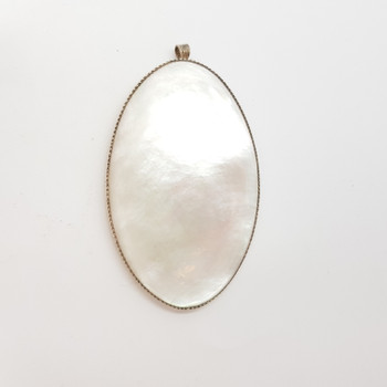 21.2GR SILVER MOTHER OF PEARL PENDANT #49542