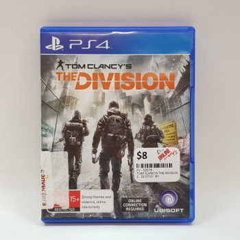 TOM CLANCYS THE DIVISION - PS4 PLAYSTATION GAME #52579