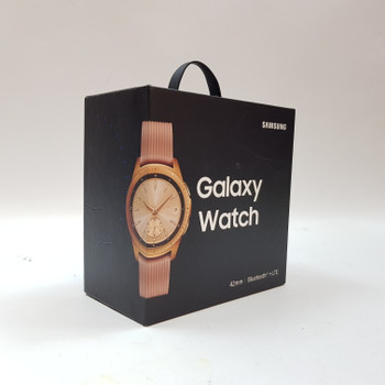 SAMSUNG SMART WATCH 42MM BLUETOOTH SM-R815F + BOX & CHARGER #53041