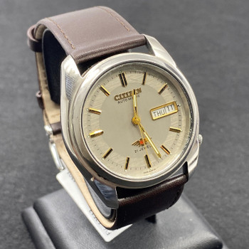 CITIZEN AUTOMATIC 21 JEWELS WATCH GN-4W-S #52513