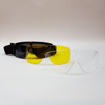 GOGGLES WITH INTERCHANGABLE LENS - IN CASE #53238