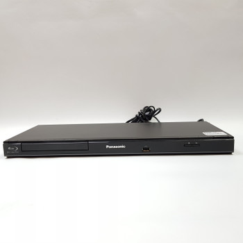 PANASONIC BLU RAY PLAYER DMP-BD75 + REMOTE & CABLE #52121