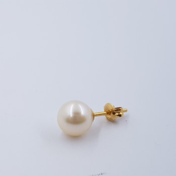 18CT 2.0GR YELLOW GOLD PEARL EARRINGS #47461-1