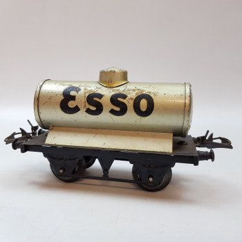 VINTAGE HORNBY TOY TRAIN ESSO RAIL WAGON - MADE BY MECCANO IN ENGLAND #53518