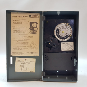 GE GENERAL ELECTRIC TIME SWITCH CR121AA01 #53319