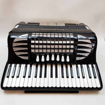 EXCELSIOR ACCORDION MODEL 908 PROFESSIONAL + CASE & STRAPS #53936