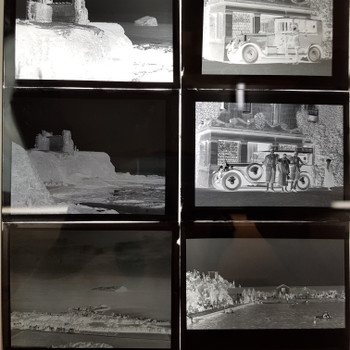 COL. DR ALLAN ROW 22X PHOTOGRAPHIC PLATES - NORTH BERWICK #53610