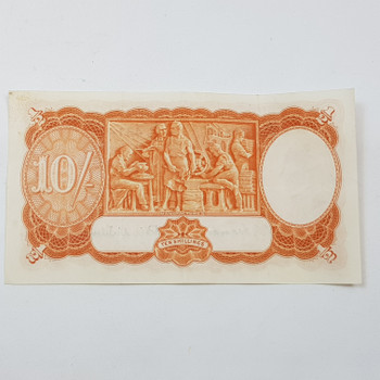 TEN SHILLINGS NOTES B38 S/N:431410 COOMBS WILSON GOOD CONDITION #53127