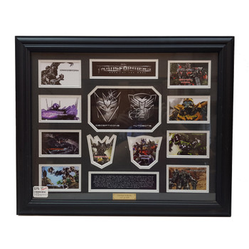 TRANSFORMERS DARK OF THE MOON COLLECTABLE + CERT OF LIMITATION 147/499 #32653