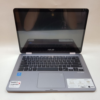 "ASUS LAPTOP VIVOBOOK FLIP 14"" - 4GB 128GB SSD WIN10 TOUCH SCREEN + WARRANTY #53716"