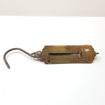 VINTAGE POCKET BALANCE SCALE (AS IS) #45449