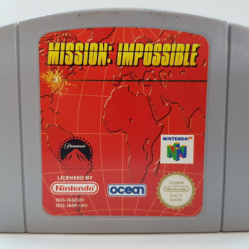 MISSION: IMPOSSIBLE NINTENDO 64 N64 GAME CARTRIDGE #54079