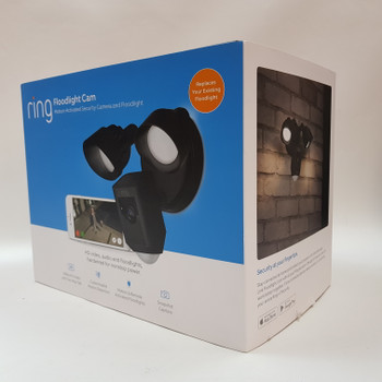 *NEW* RING FLOODLIGHT CAM - MOTION ACTIVATED SECURITY CAMERA & FLOODLIGHT #53814