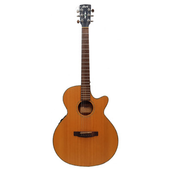 CORT SFX-E ACOUSTIC ELECTRIC GUITAR - NATURAL SATIN WITH BUILT-IN TUNER #51423
