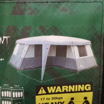 WANDERER TENT 12P PERSON HOMESTEAD TENT #49939