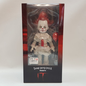 *NEW* LIVING DEAD DOLLS - IT  / PENNYWISE #53783