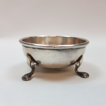 SMALL VINTAGE SILVER PLATED BOWL #53922