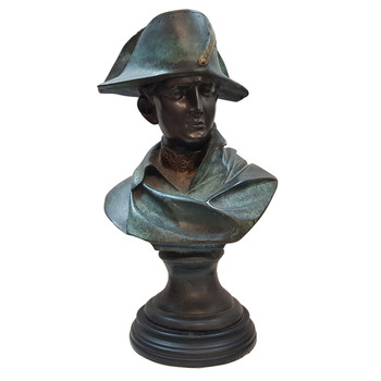 BRONZE NAPOLEON BUST SIGNED BY R. COLOMBO #48199