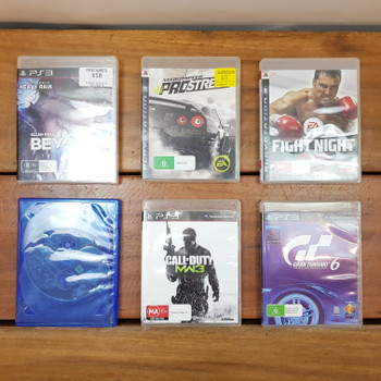 BULK COLLECTION OF PS3 PLAYSTATION 3 GAMES (6 GAMES) #54307-4