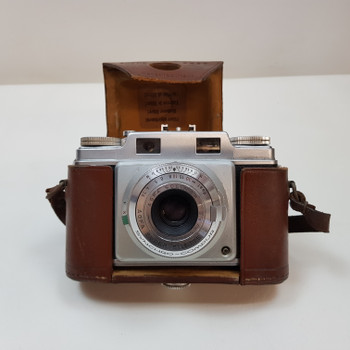 AGFA SUPER SILETTE 35MM VINTAGE CAMERA C.1955 (AS-IS FOR PARTS) #54495