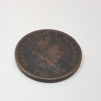 1826 GEORGE IV COPPER PENNY COIN (VF) #43884-1
