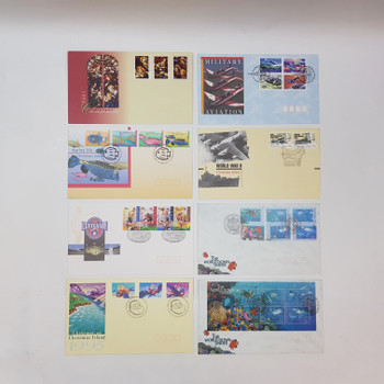 Bulk Lot of First Day of Issue Stamped Envelopes (1995-1996) #9222-1