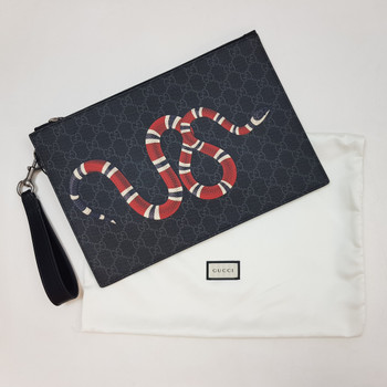 Gucci Snake Pouch / Bag (As New - In Box) RRP $1090 #53160